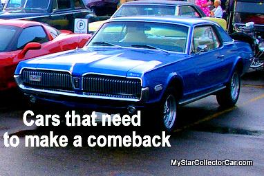 June 11 2011 What Dead Car Names Should The Big Three Resurrect