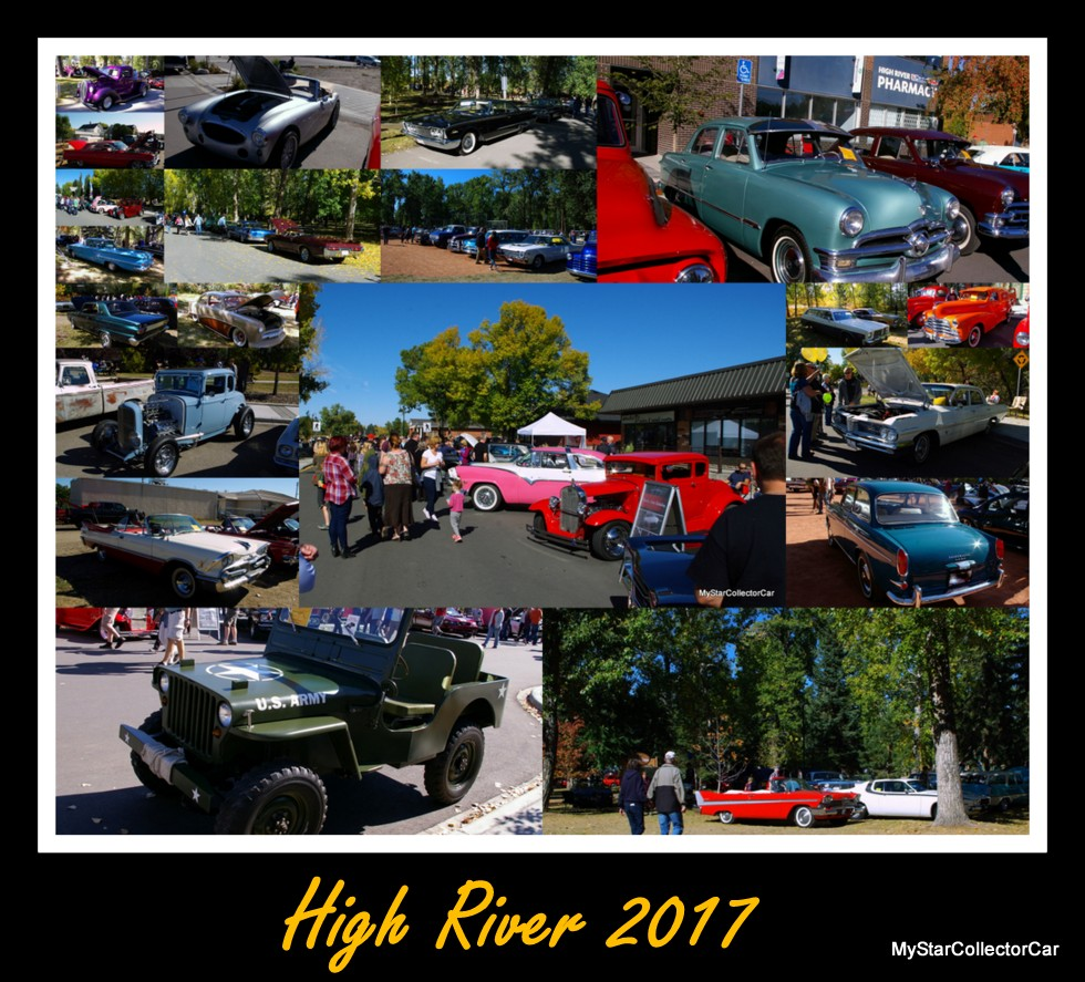 NO RAIN THE PARK AND OTHER THINGS AT THE HIGH RIVER CAR SHOW - Major car shows