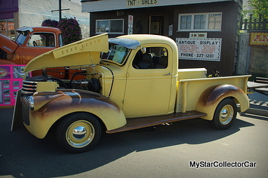 """JULY 27, 2014 (AUGUST 2014): '40 CHEVY TRUCK FROM THE """"YOU"""