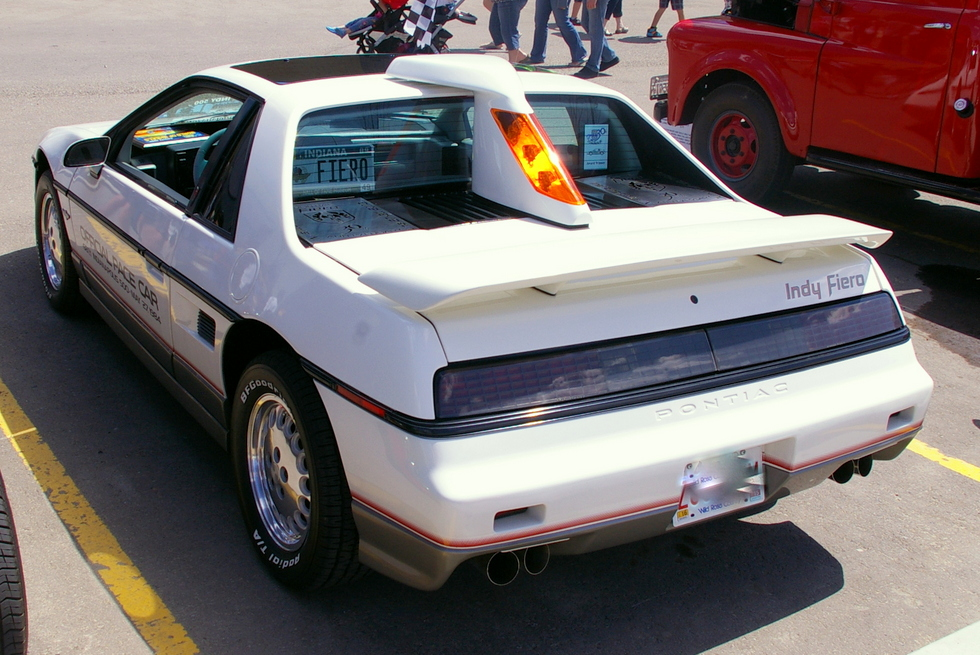 October 2015 A 1984 Pontiac Fiero With An Indy 500