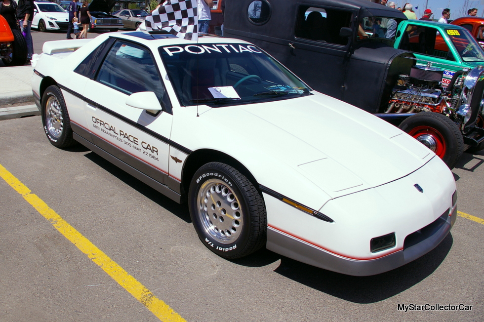 OCTOBER 2015: A 1984 PONTIAC FIERO WITH AN INDY 500 HERITAGE ...