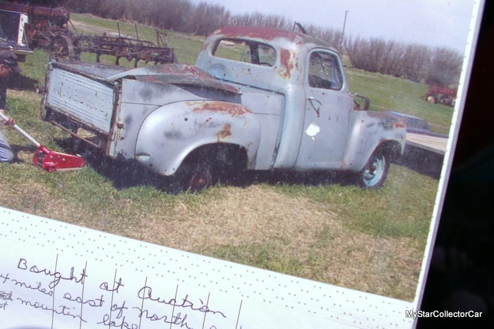 Studebaker Truck Fenders : November  a studebaker truck with chevy