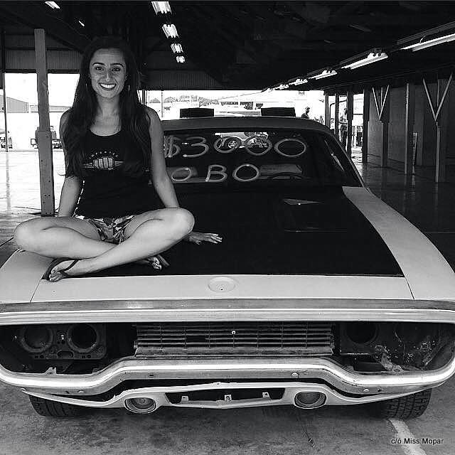 MEET MISS MOPAR- NOT YOUR TYPICAL CAR GUY