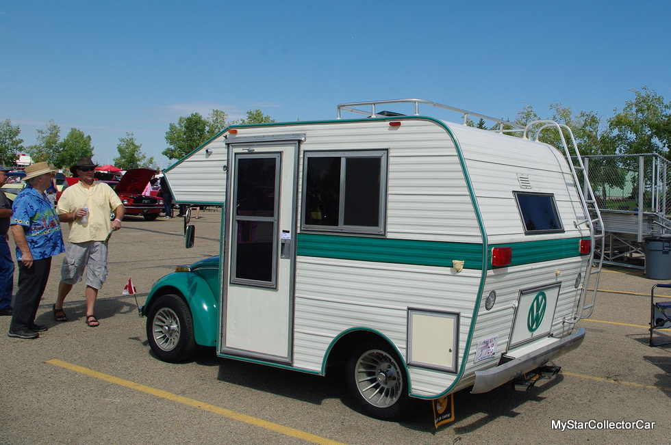 Vw Bug Camper >> MARCH 2016: SUPER BUGGER: A VERY UNUSUAL VW BEETLE RV - MyStarCollectorCar