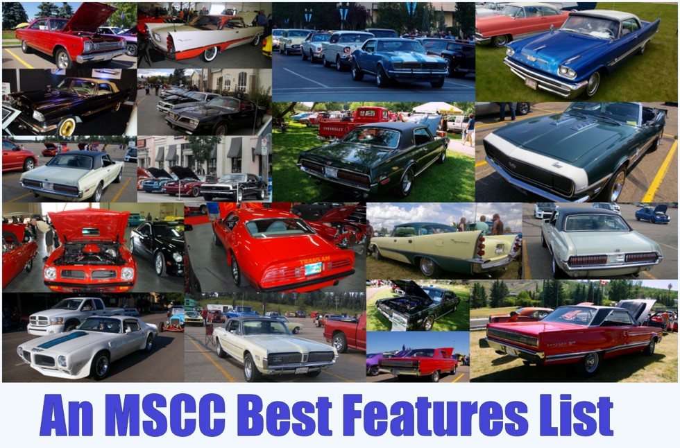 WHAT ARE THE BEST FEATURES OF THESE OLD CARS MyStarCollectorCar - List of old cars