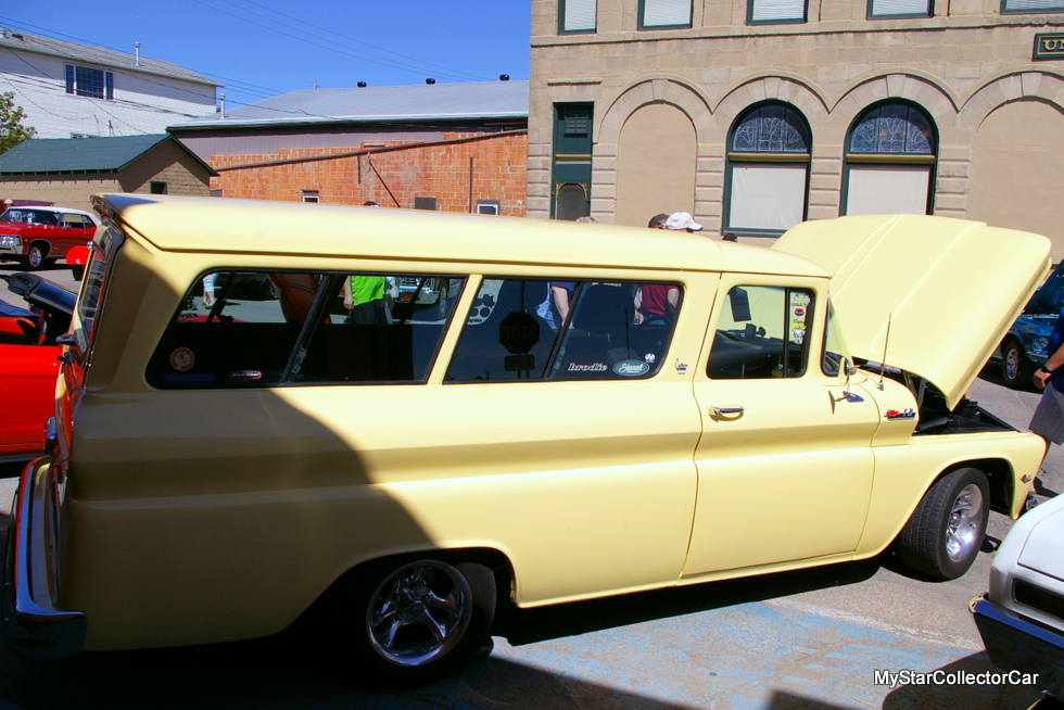 Chevrolet Suburban San Diego >> JULY 2016: A 1962 CHEVY SUBURBAN IS A ROAD WARRIOR AND PINUP MODEL - MyStarCollectorCar