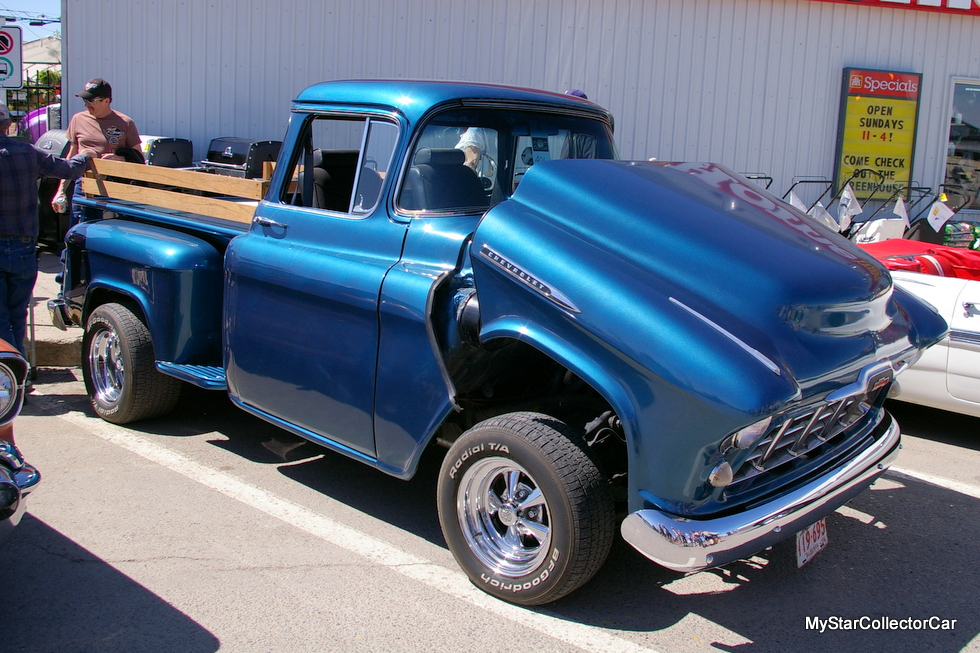 OCTOBER 2016: CHECK OUT THIS OVER THE TOP RESTO MOD 1956 CHEVY TRUCK ...