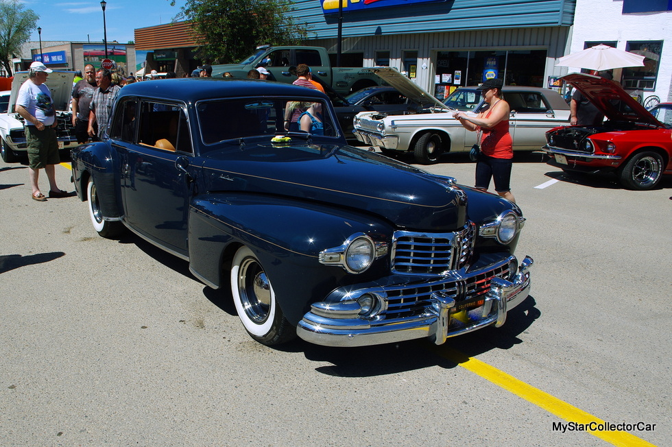 october 2016 a 1947 lincoln continental resto mod rocks the show mystarcollectorcar. Black Bedroom Furniture Sets. Home Design Ideas