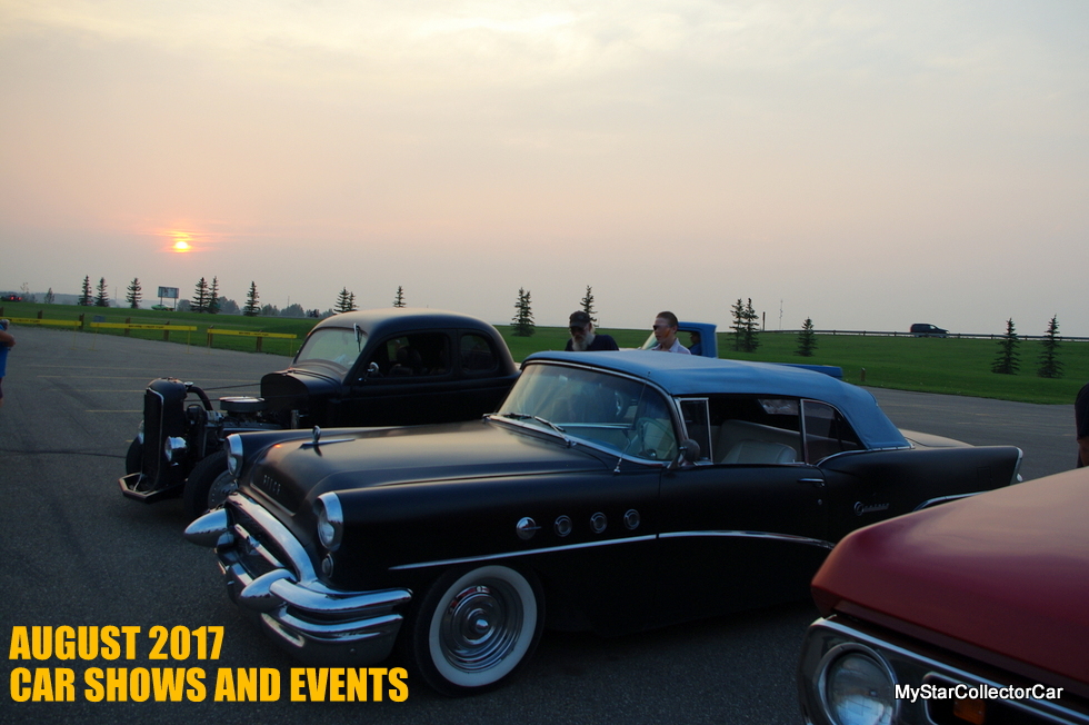 AUGUST 2017 CAR SHOWS AND EVENTS: MyStarCollectorCar ...
