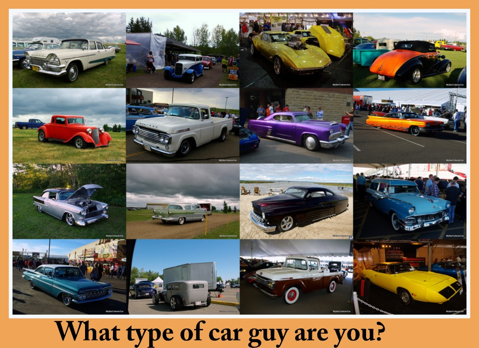WHAT YOUR VINTAGE VEHICLE SAYS ABOUT YOUR PERSONALITY - Classic car guy