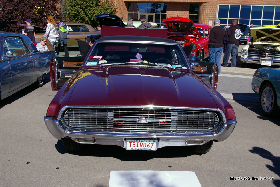 Sues 67 Thunderbird Was Originally Purchased By Her Father In The Mid 70s Bought Used T Bird Spokane Washington Area And Brought