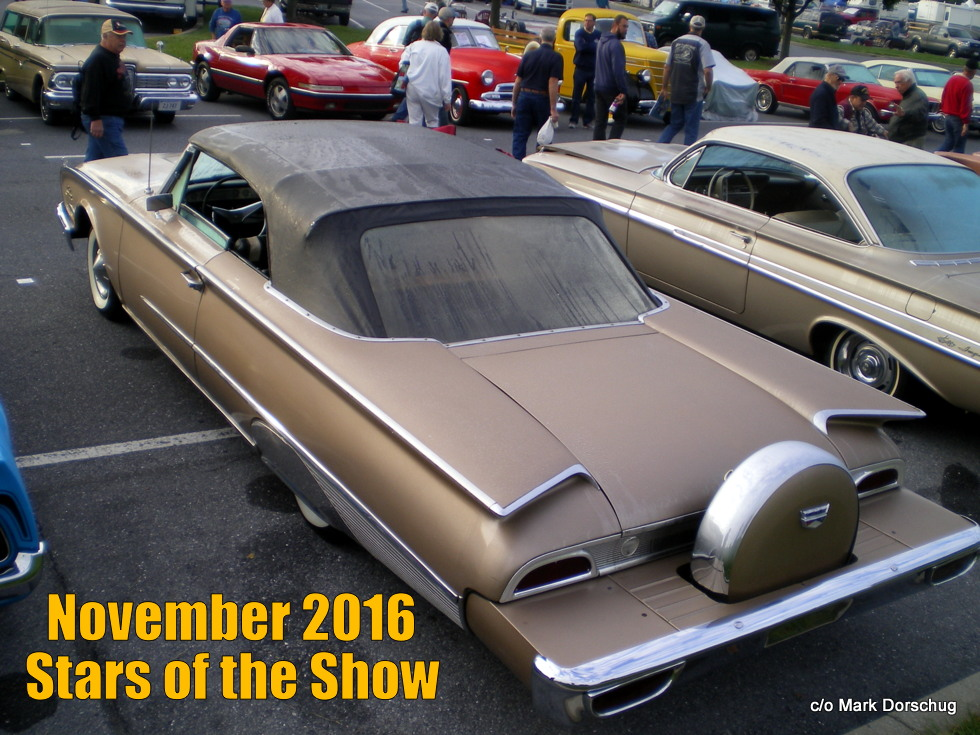 NOVEMBER MSCC STARS OF THE SHOWA LOOK AT THE HERSHEY AAAC - Hershey car show