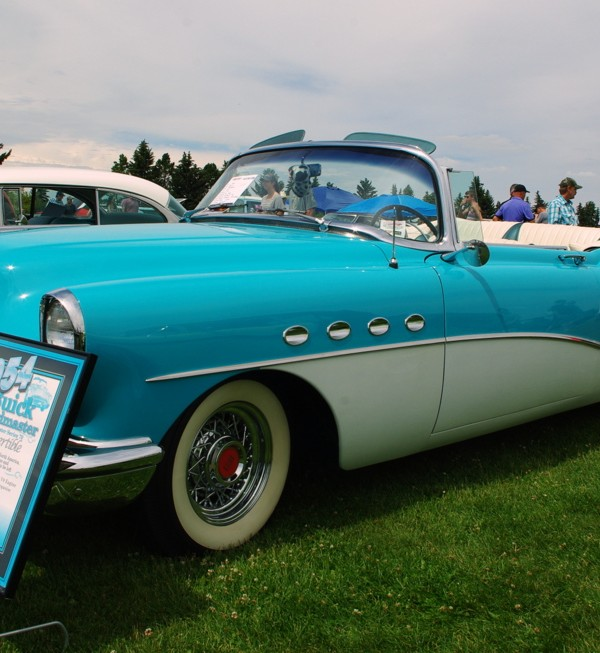 Buick Cars For Sale: NOVEMBER 2016: '54 BUICK ROADMASTER CONVERTIBLE—HE STUCK