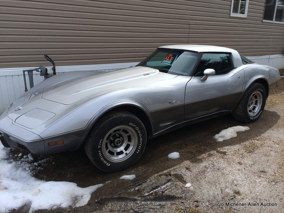 8F 1978 Chev Corvette 25th anniversary(2)-001
