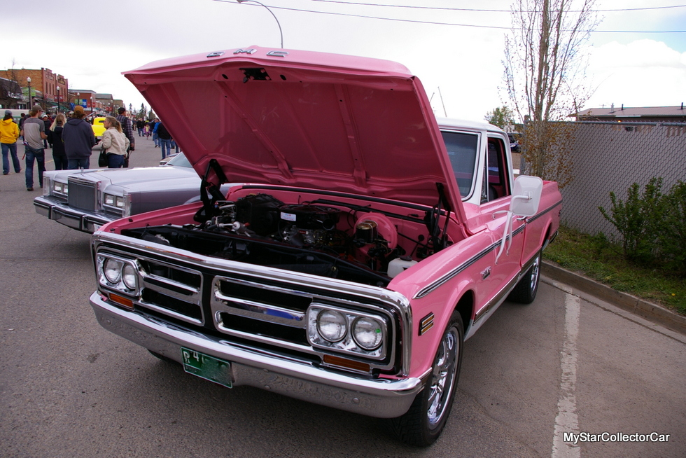 July 2017 a factory pink 1971 gmc pickup is a rare beast a pink 1971 gmc pickup truck definitely stood out in a crowd of vintage rides and we wanted to get the story behind the color choice publicscrutiny Image collections