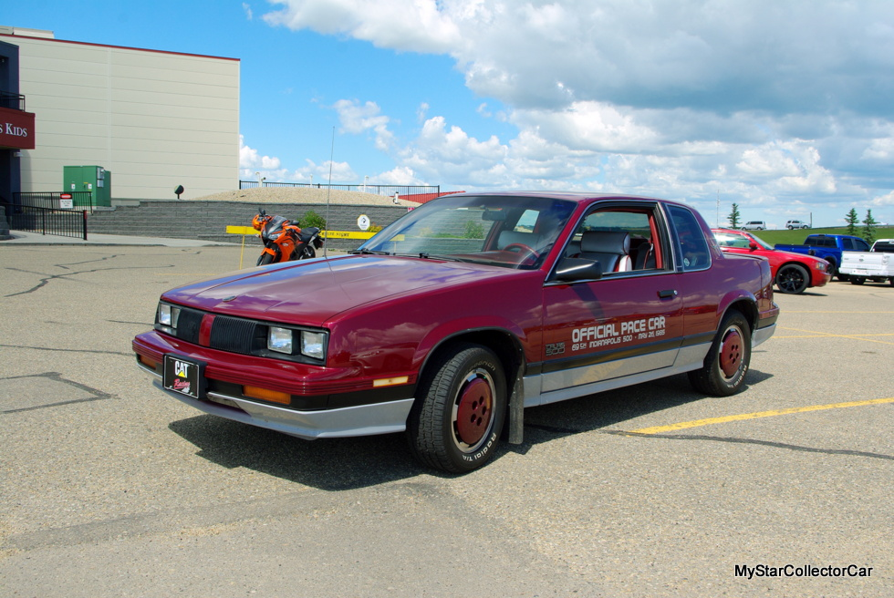 december 2017 1985 olds calais 500 the worst indy pace car ever made is a winner with its. Black Bedroom Furniture Sets. Home Design Ideas