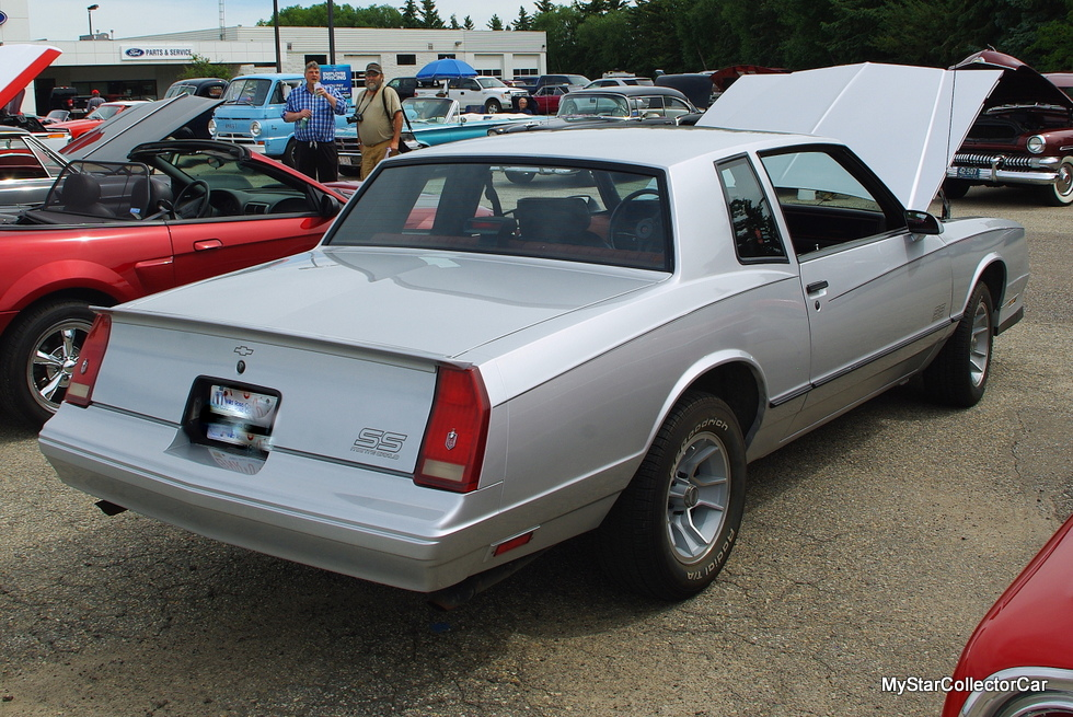 A 1987 Monte Carlo Ss Became Available To Chuck At Stage In His Life When He Could Afford An And Also Fulfill Dream Own