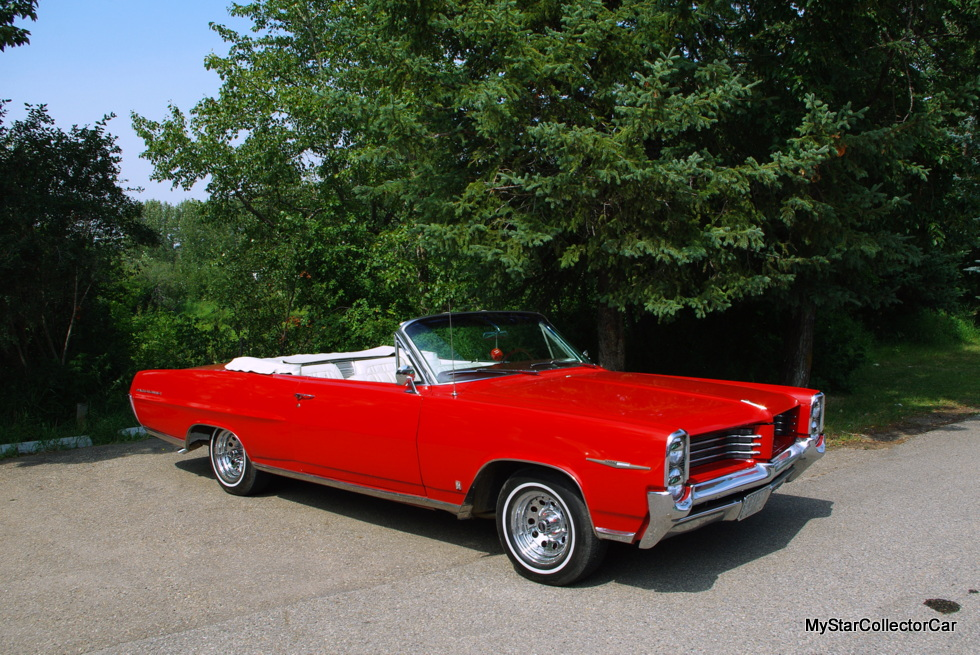 March 2018 Only In Canada A 1964 Pontiac Parisienne