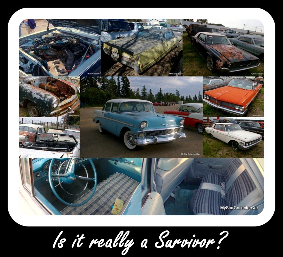 DOES YOUR VINTAGE VEHICLE REALLY HAVE WHAT IT TAKES TO BE A SURVIVOR ...