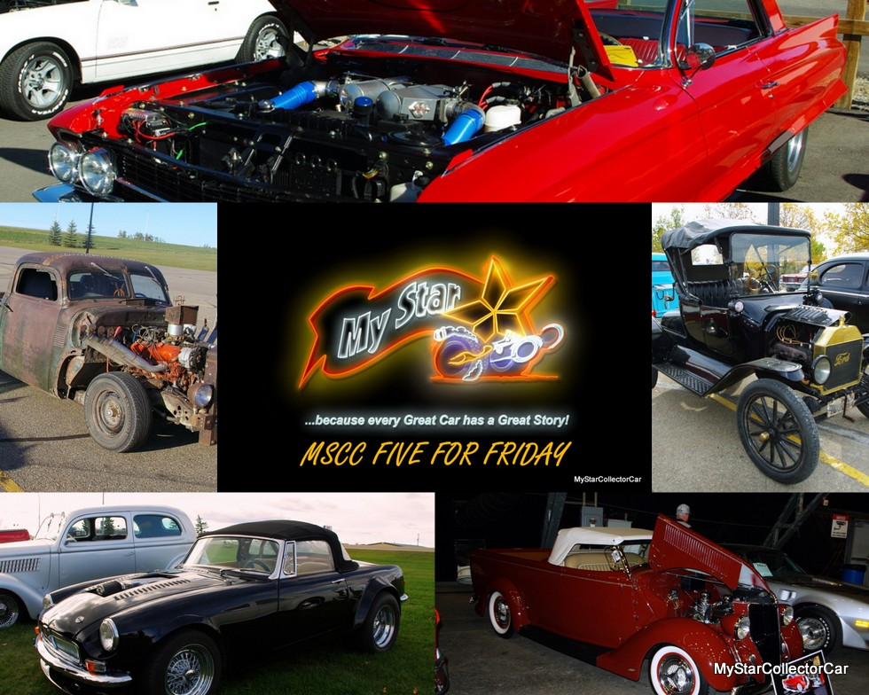 OCTOBER FIVE FOR FRIDAY WHAT TYPE OF CAR GUY PERSONALITY - Classic car guy