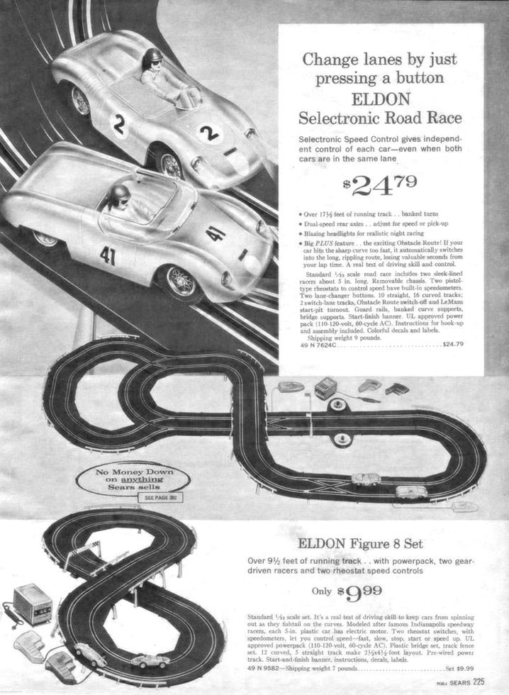 slot car sears
