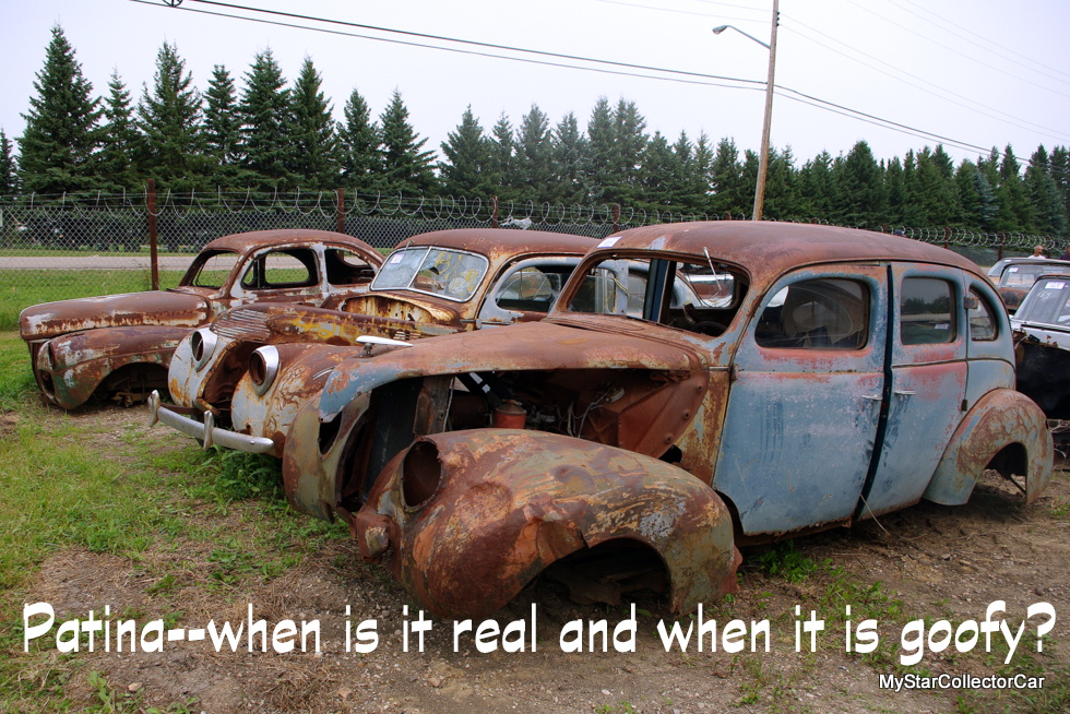 WHAT IS PATINA AND WHEN DOES IT JUST SEEM GOOFY? - MyStarCollectorCar