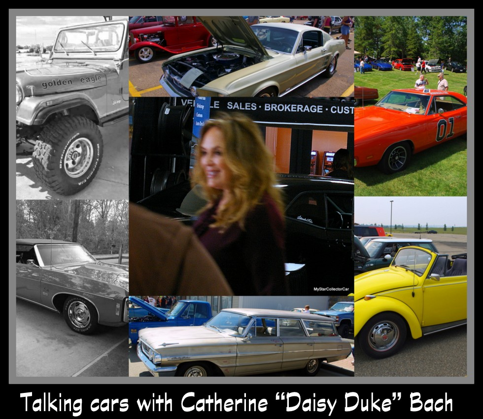 TALKING CARS WITH CATHERINE BACH—YES, DAISY DUKE IS