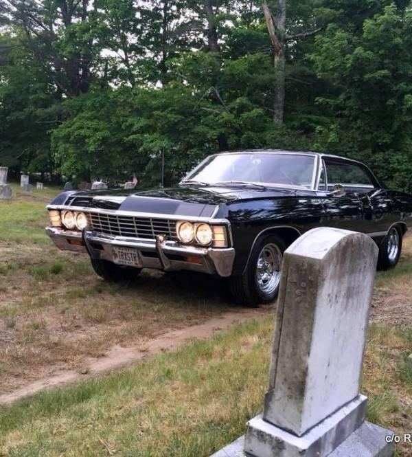 OCTOBER CHEVY IMPALA DOOR HARDTOPSUPERNATURAL PLAYED A - Supernatural show car
