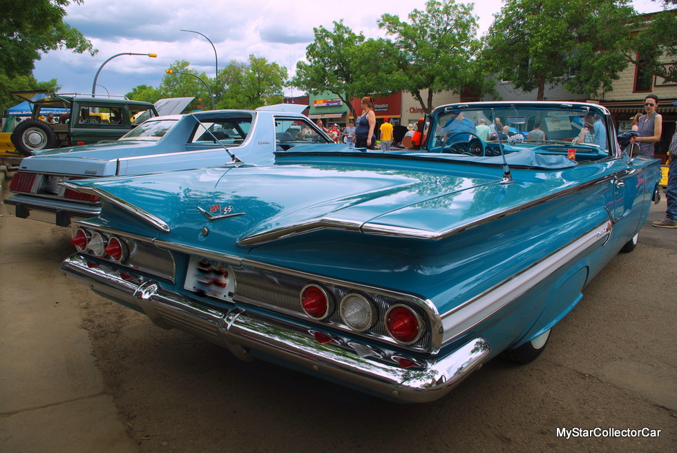 January 2019 A Beautiful 1960 Chevy Impala Convertible Looks Like