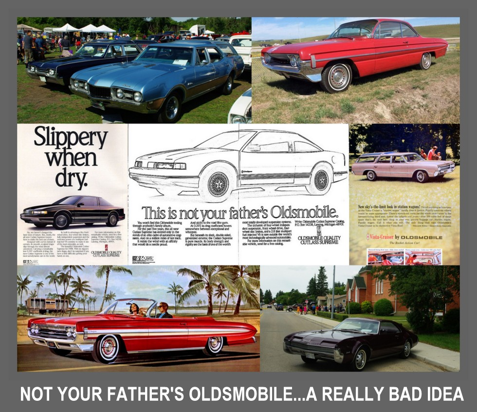 This Was Your Fathers Oldsmobilewhy Mess With A Good Thing 1950s American Cars Oldsmobile Renowned Tweener Car In The Gm Lineup An Olds Not Quite Cadillac But It More Than Chevy Generals Battle Plan For Big