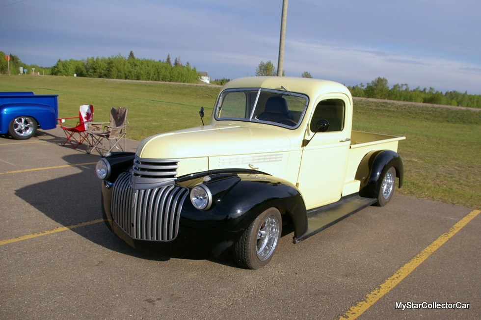 JUNE 2016: SUMMER WAGES: A 1941 CHEVY TRUCK CONNECTS A