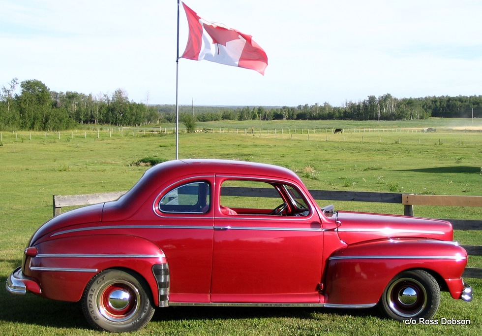 Cropped Car And Flag-001