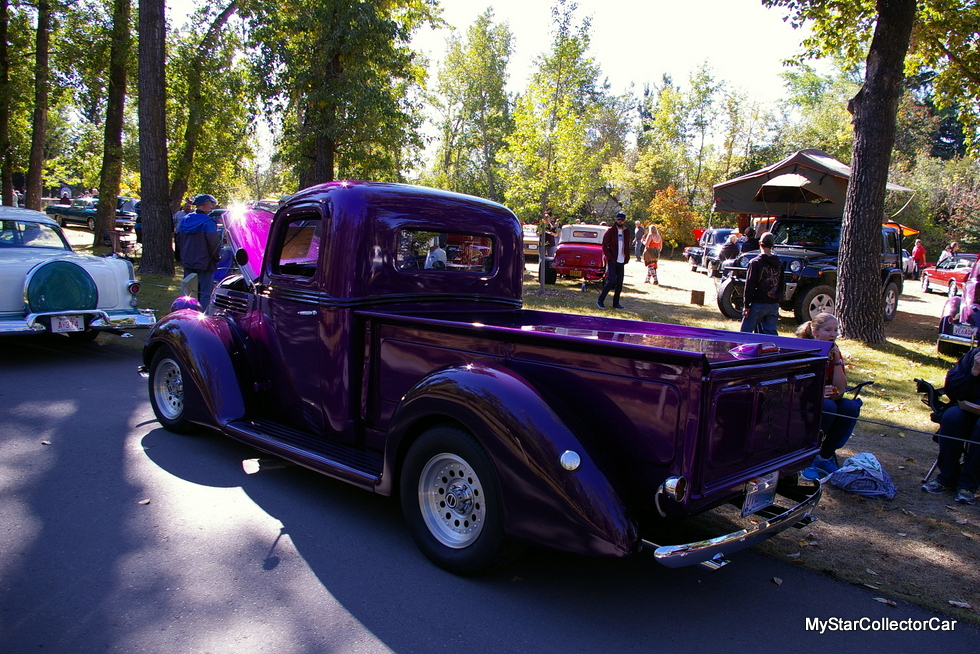 MARCH 2018: LOYAL FORD BOY TURNS A 1938 FORD TRUCK INTO A